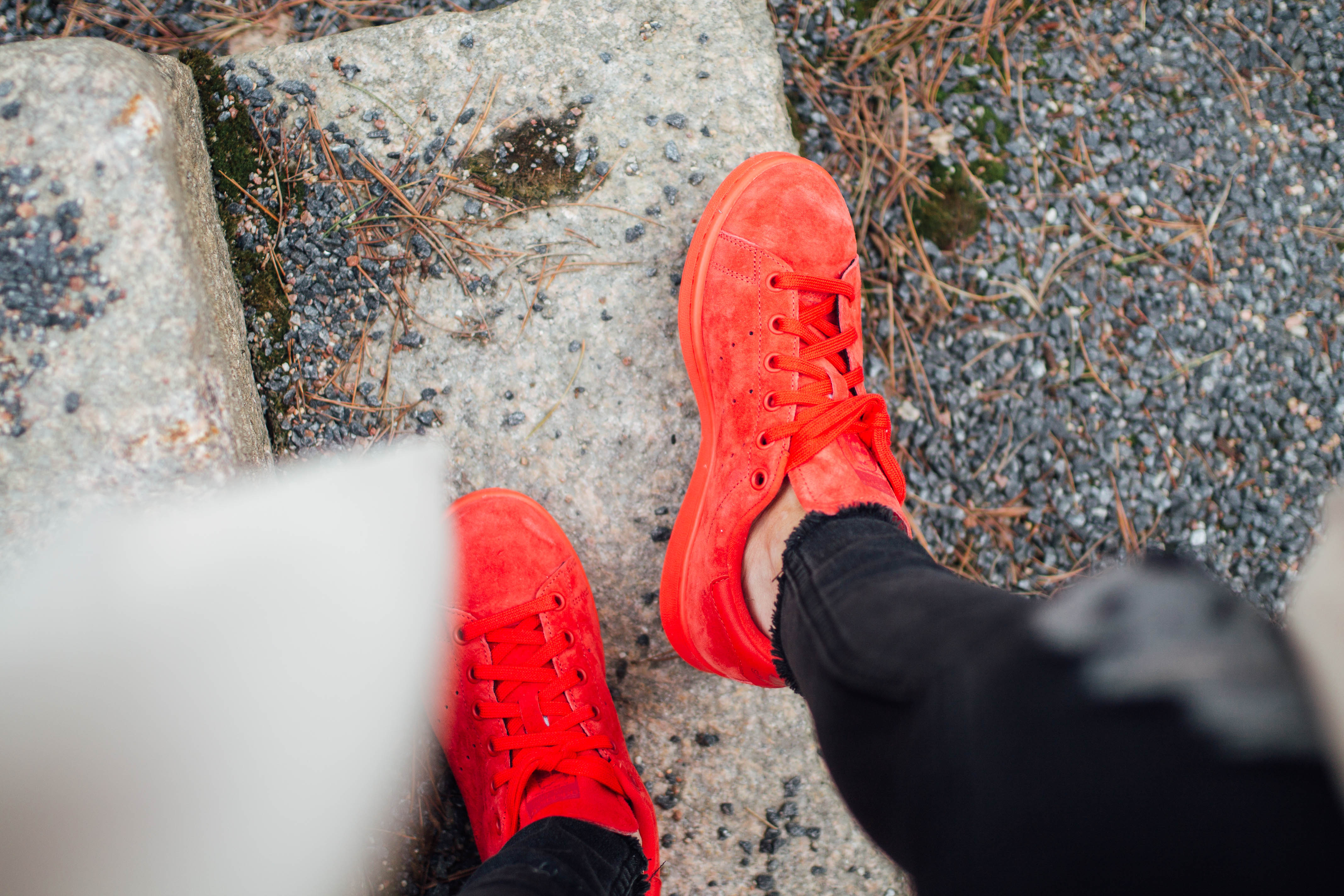 adidas stansmith red