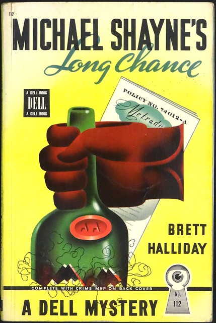 Dell Mapback 112 (1946). Cover Art by Gerald Gregg
