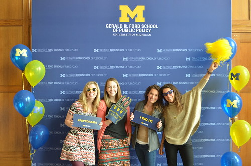 Ford School Grad Open House 2016