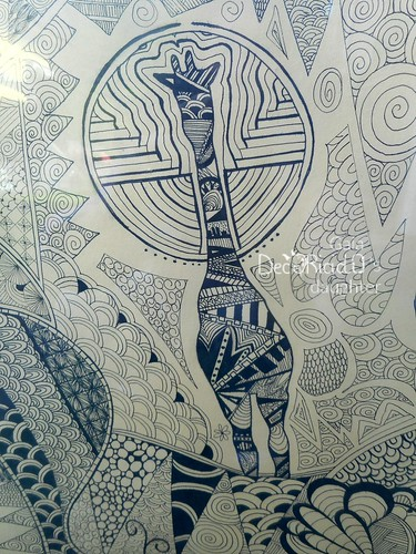 quadro zentangle 5