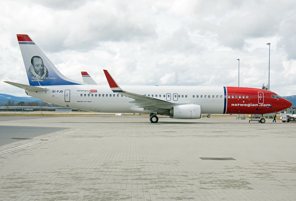 EI-FJD - B738 - Norwegian Air International