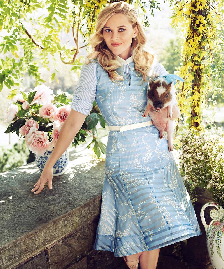 Риз Уизерспун — Фотосессия для «Harper's Bazaar» 2016 – 4