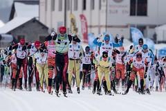 Norové ovládli závod La Diagonela - další závod Visma Ski Classics