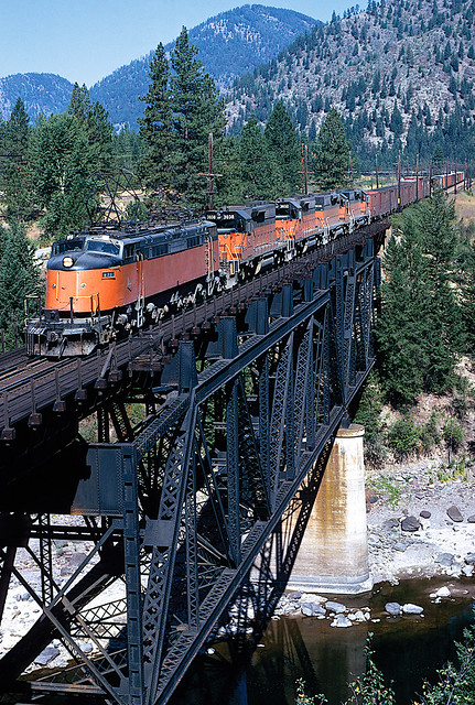 Milwaukee Road in Montana, by Steve Patterson