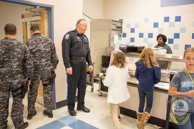 2016 Law Enforcement Appreciation at Moultrie Middle