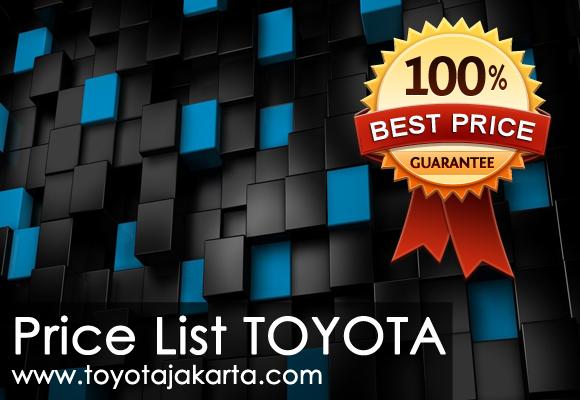 Daftar Harga Mobil Toyota di jakarta terbaru