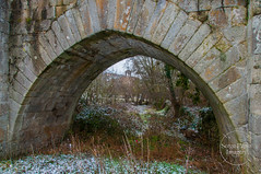 L'arche du pont de Baffy