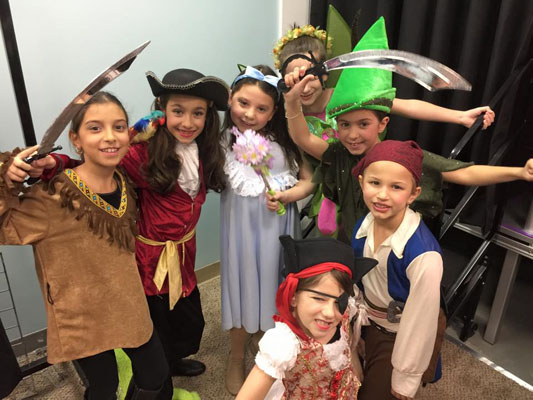 Peter Pan at the Landrum Showcase Theater Queens NY 2015