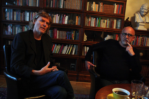 Kristofer Nilsson Ahlberg och Melker Garay