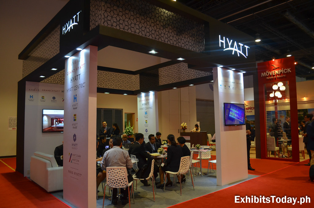 Hyatt Hotels Exhibit Booth