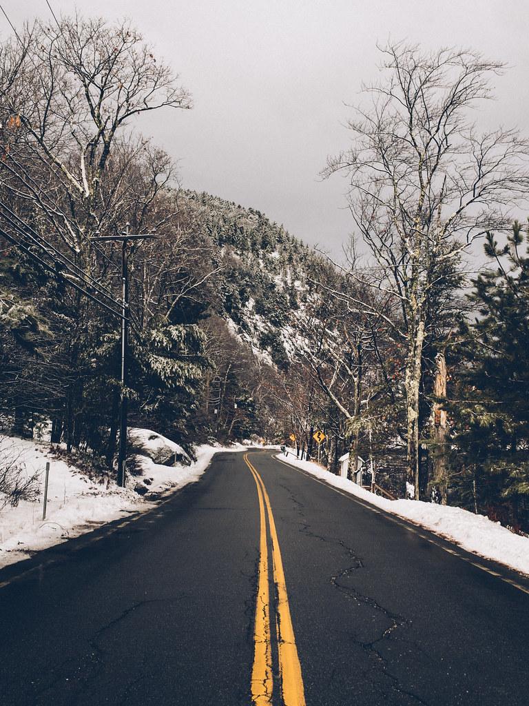 Winter Tumblr Pictures Winter road tri...