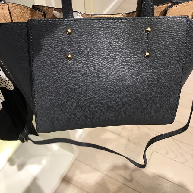 Spring 2016 - Ann Taylor Signature Crossbody Tote in Quartzite
