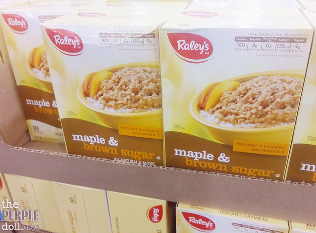 Raley's Maple and Brown Sugar