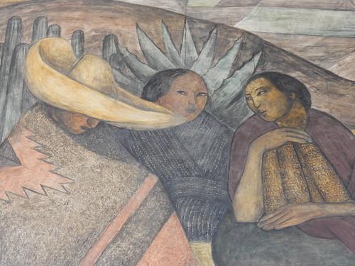 Ciudad Mexico - Secretaria de Educacion Publica - Diego Rivera murals - 1