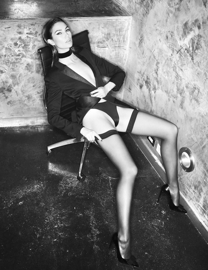 Лили Олдридж — Фотосессия для «Lui» 2016 – 5