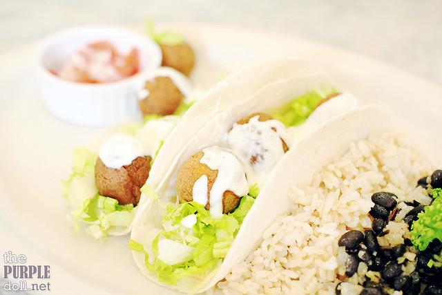 Falafel Soft Tacos (P215)