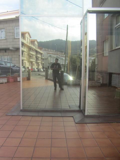 Yo en la casa de Galicia