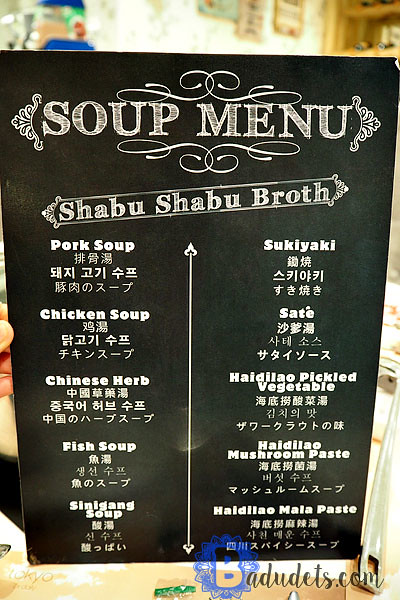 four seasons hotpot soup menu
