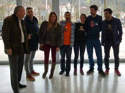 #LocosXCiencia #Bilbao con @_BigVan @Zientzia