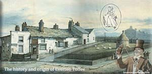 history of everton toffee logo