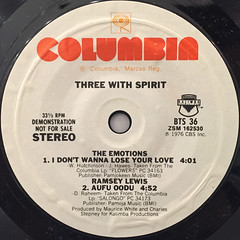 V.A.:THREE WITH SPIRITS(LABEL SIDE-B)