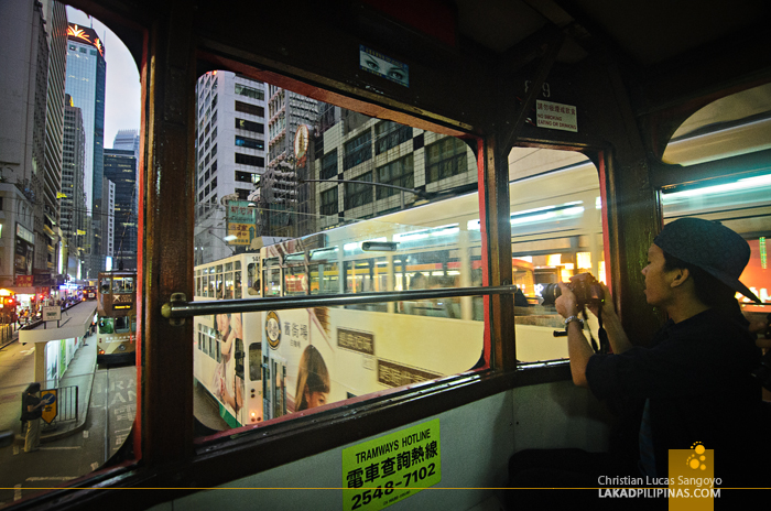 Hong Kong Tram Interior