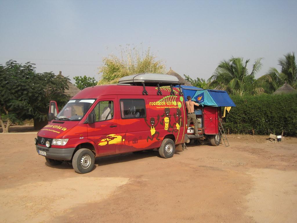 2011 Westafrika - Tourbus