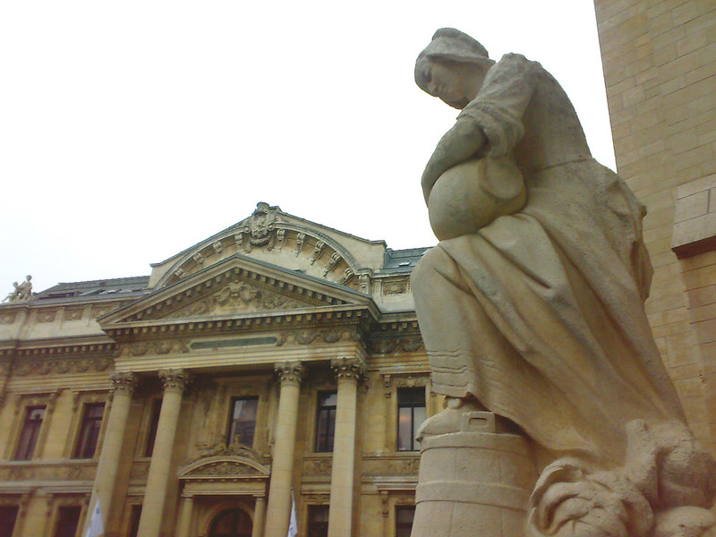 Bourse /Beurs van Brussel