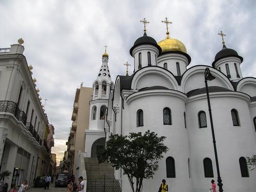 La Havane: la Cathédrale orthodoxe russe Notre-Dame de Kazan