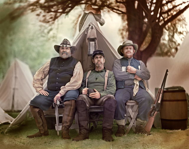 150912_TRES-PINOS-CIVIL-WAR-DAYS_Camp_Colorized
