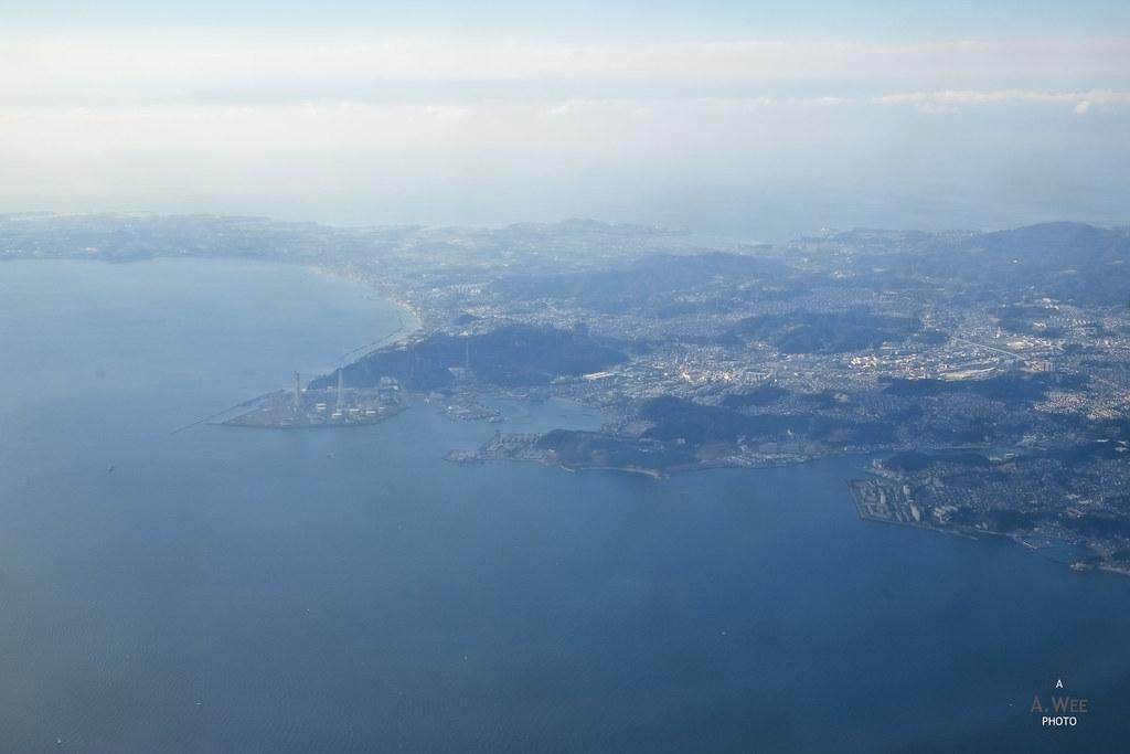 Yokosuka and Kaneda Bay
