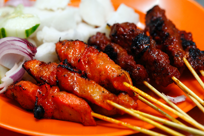 Nur Chicken and Beef Satay Ampang
