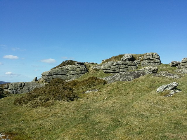 Meldon Hill outcrop