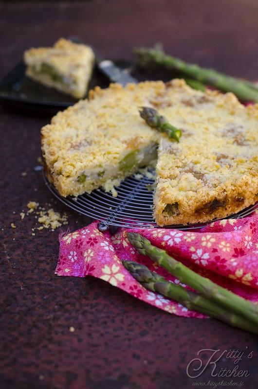 sbriciolata asparagi e gorgonzola1