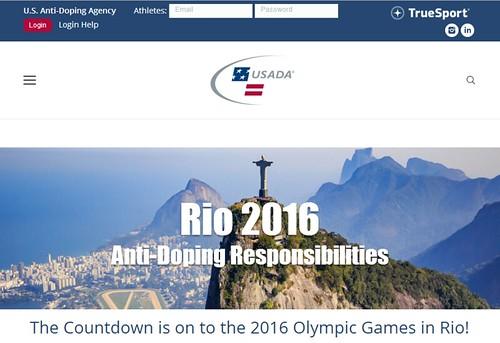 Rio 2016 Anti-Doping Responsibilities