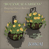 "@ The Wash ~ [CIRCA] - ""Botanical Gardens"" - Hanging Flower Baskets - Yellow Flowers"