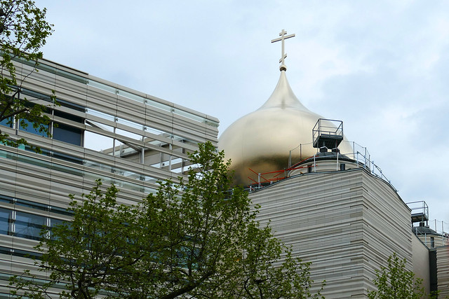 Paris: future Russian Orthodox cathedral