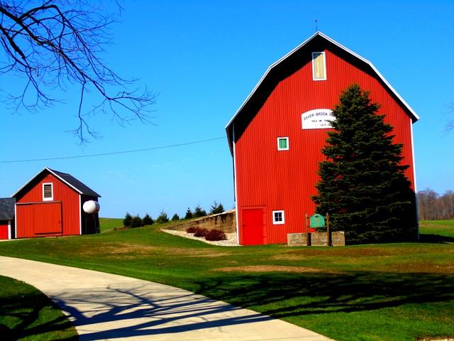 Silver Brook Farm Centennial farm barn