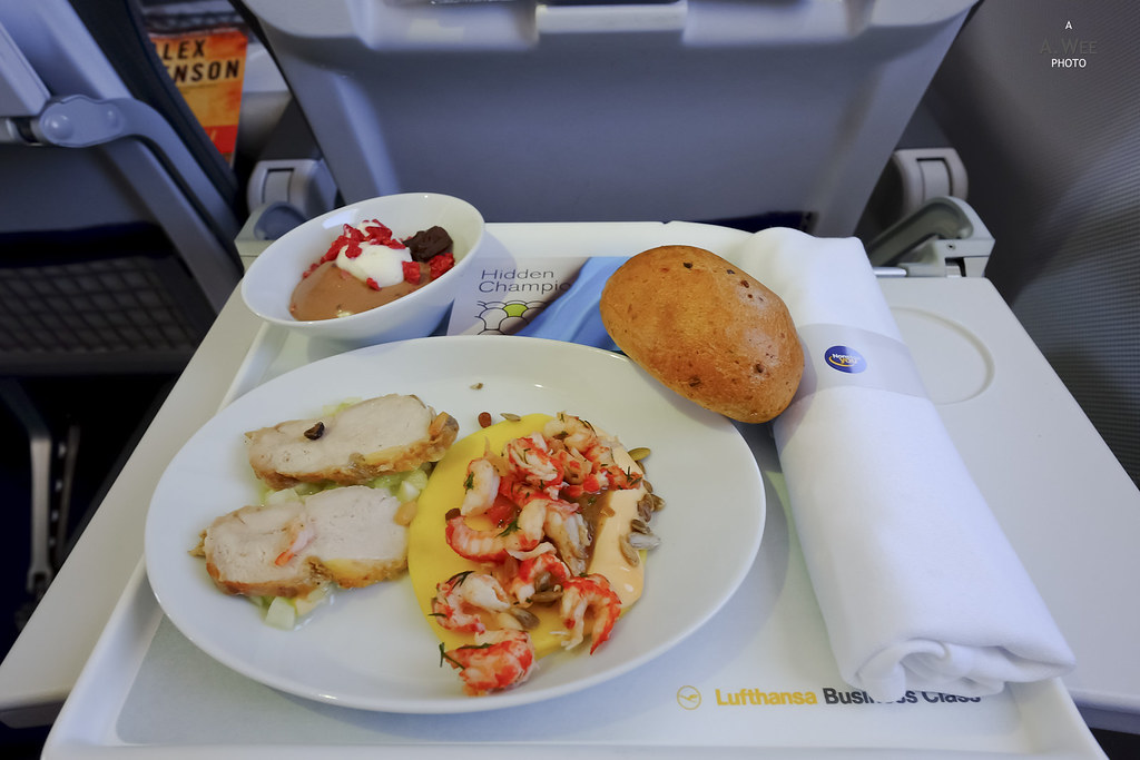 Inflight lunch