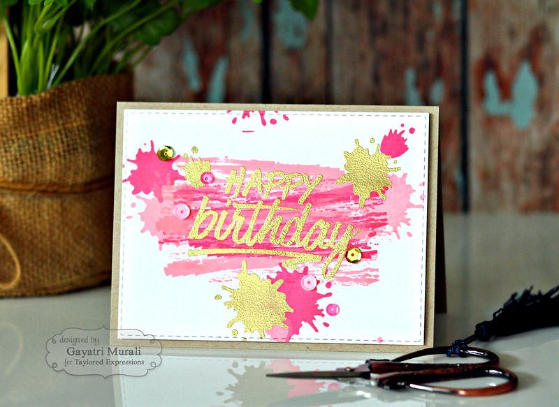 Happy Birthday #1 by Gayatri Murali