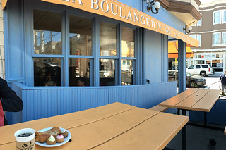 La Boulangerie de San Francisco Noe Valley - Outside table