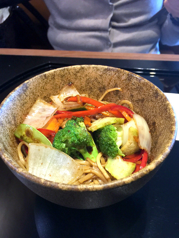 Cathay Pacific Manila Lounge- Stir Fry Vegetable Noodles