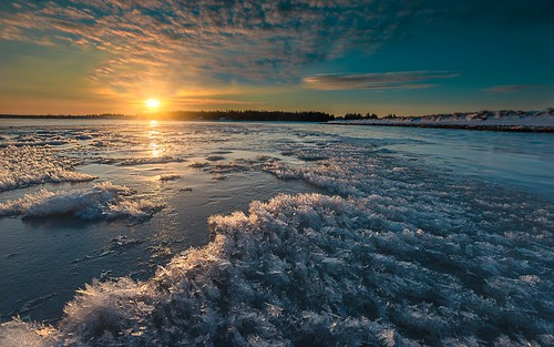 ice crystals winter frozen snow cold sunrise freeze wintry plage clouds trees colours landscape nature nikon d810 nikon1635
