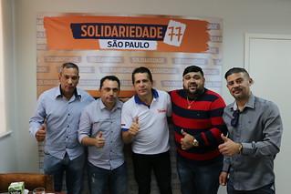 David Martins se reúne com pré-candidato a prefeito de Diadema