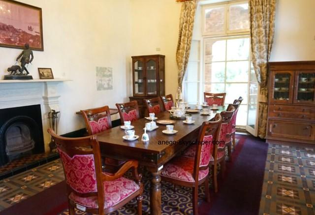 淡水 紅毛城のテーブル