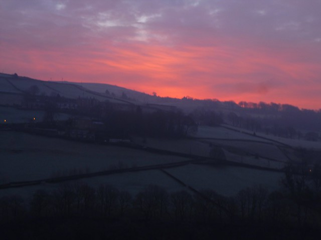 Yorkshire sunrise, Panasonic DMC-SZ02