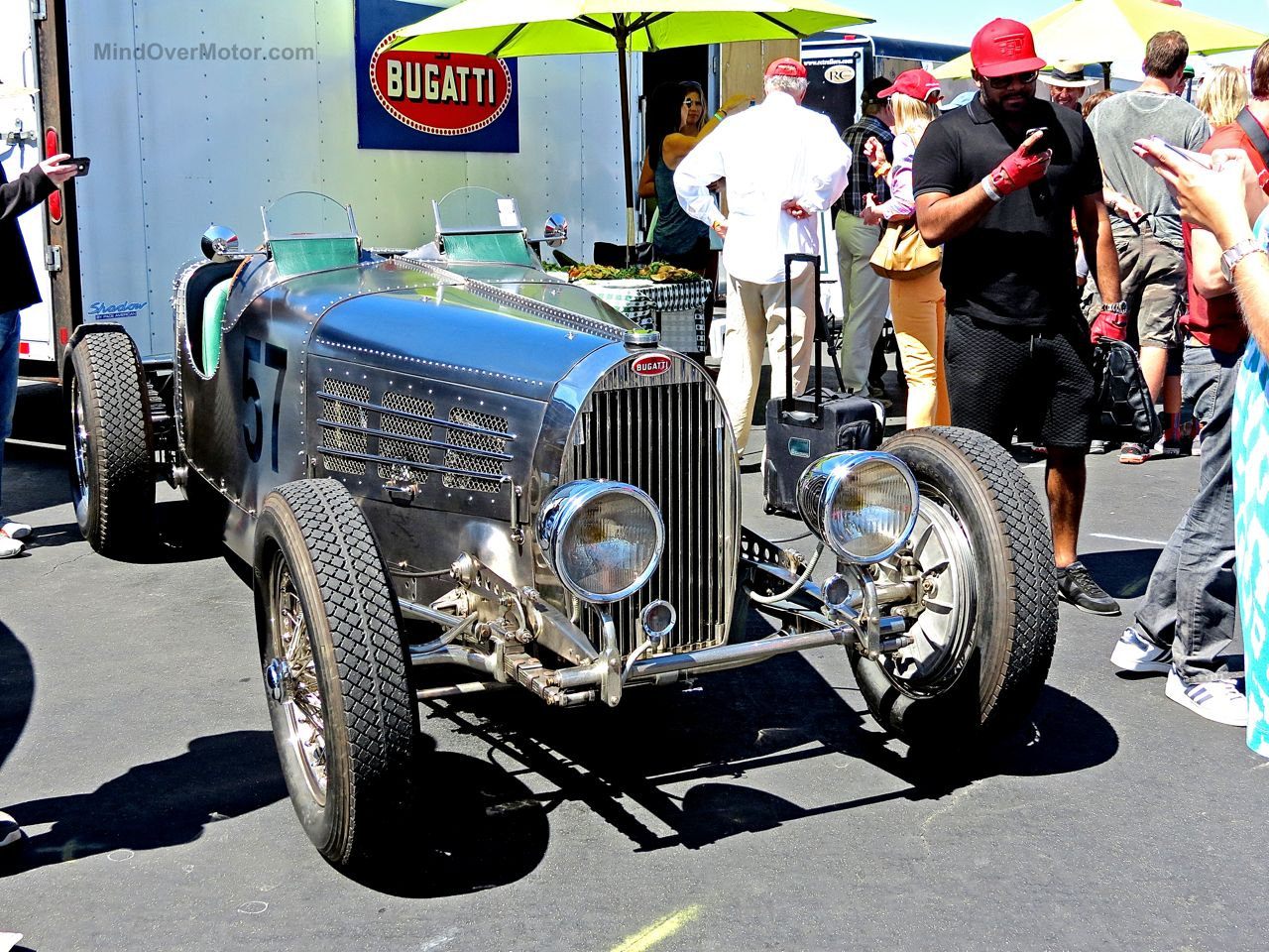 Bugatti Type 37 Laguna Seca Paddock