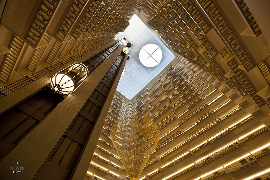 Elevator atrium