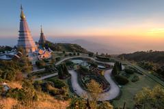Twin Royal Pagodas