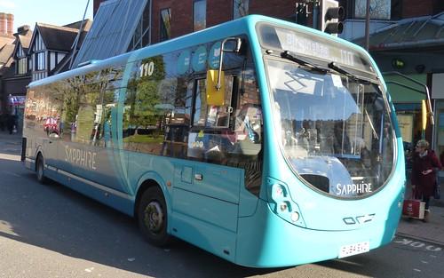 Arriva Midlands North Wright Streetlite D/F micro hybrid 3302 FJ64 EVO